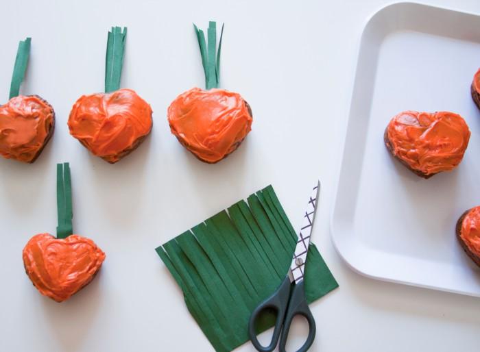 Babiekins Magazine || Carrot Cupcakes