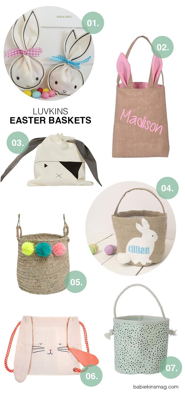 Luvkins // Easter Baskets | Babiekins Magazine