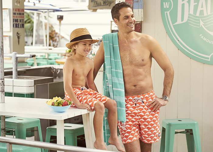 Babiekins Magazine || Tom and Teddy Beachwear + GIVEAWAY