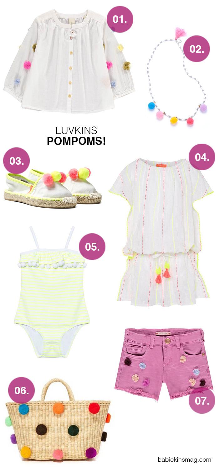 Luvkins // PomPoms! | Babiekins Magazine