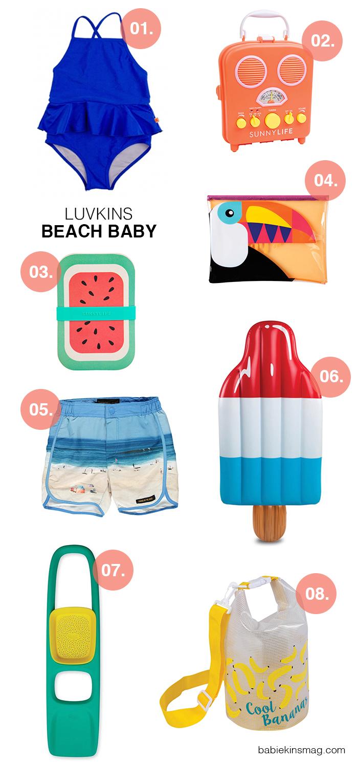 Luvkins // Beach Baby | Babiekins Magazine