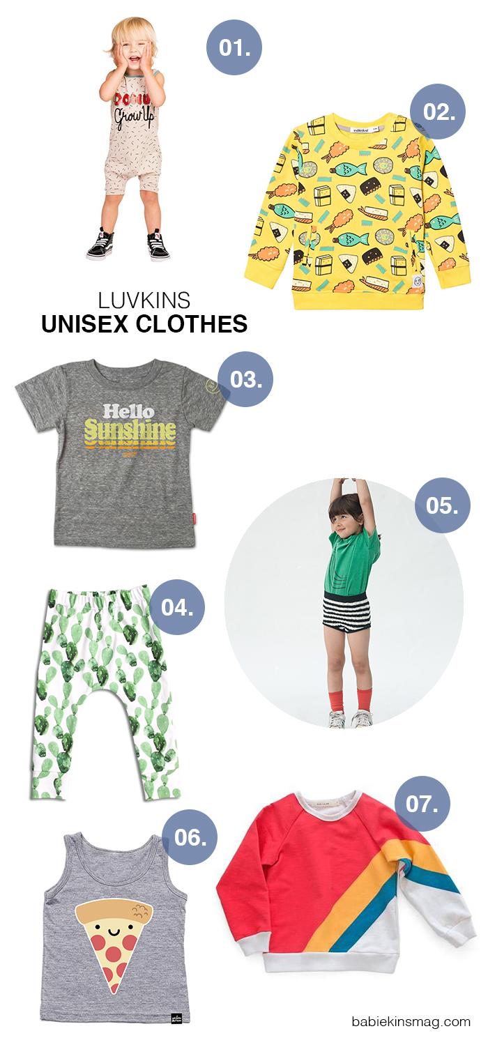Luvkins // Unisex Clothes | Babiekins Magazine