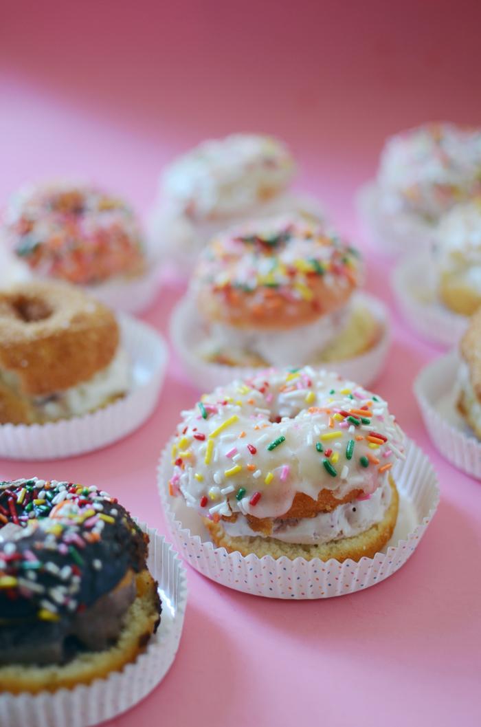 BABIEKINS // donut ice cream sandwich