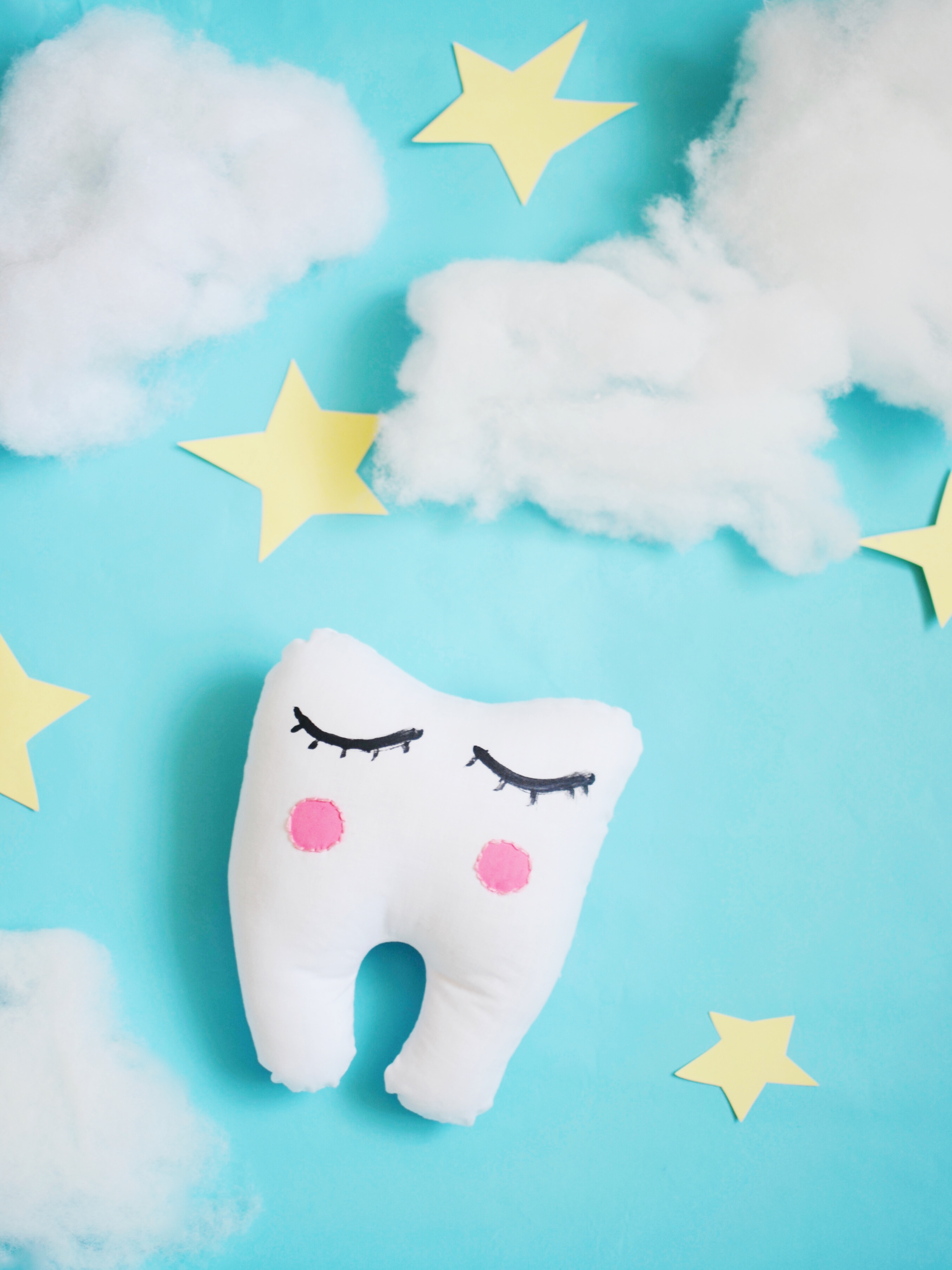 tooth fairy pillow // babiekins mag