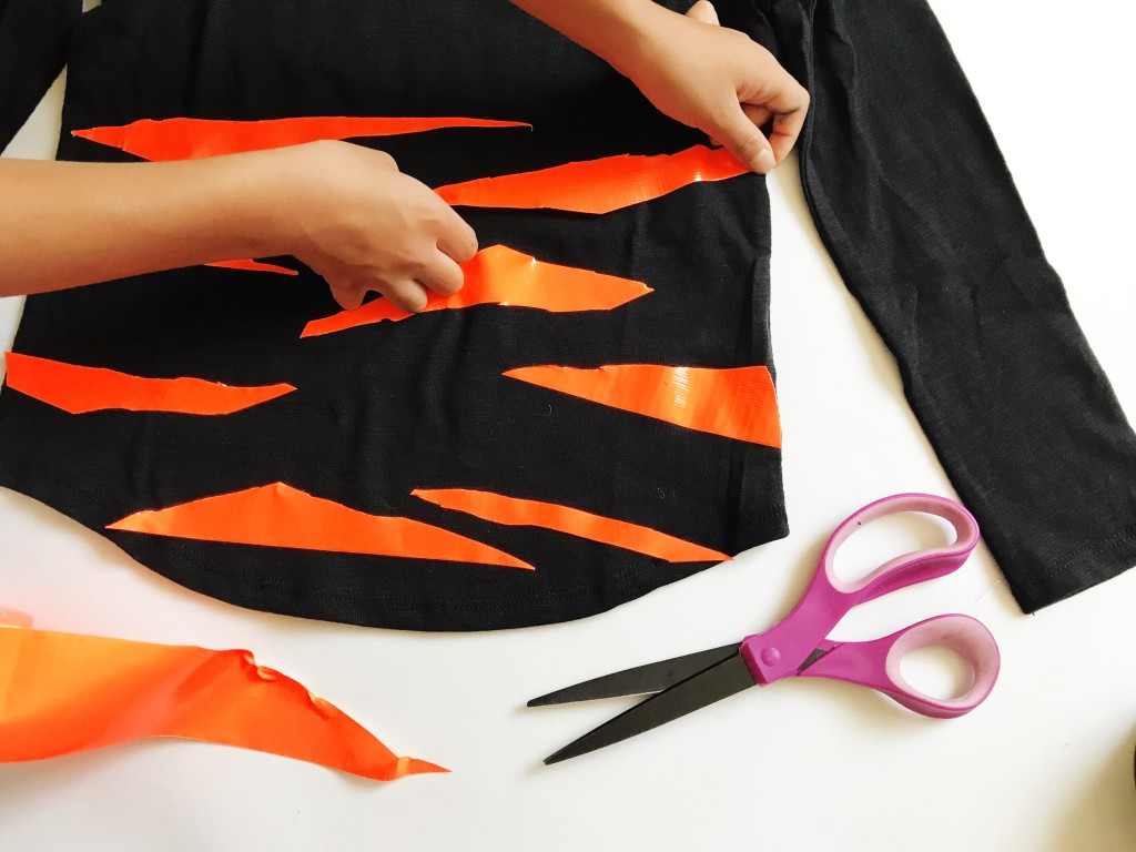 DIY Tiger Costume // babiekinsmag