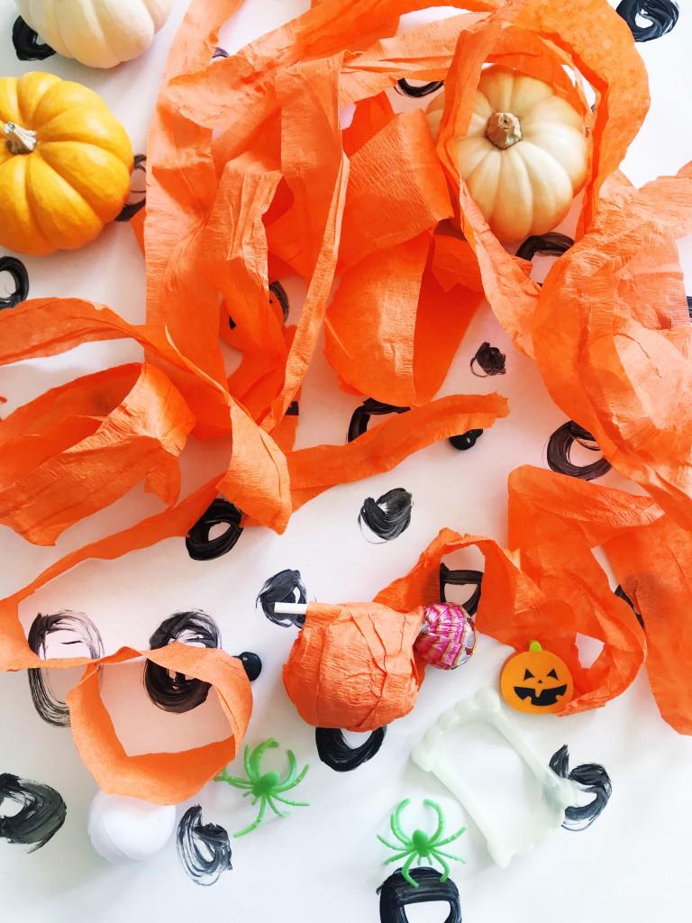 pumpkin surprise ball DIY-1