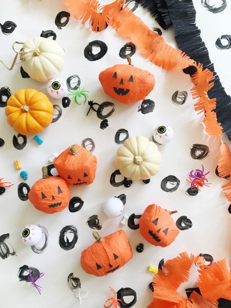 pumpkin surprise ball DIY-3