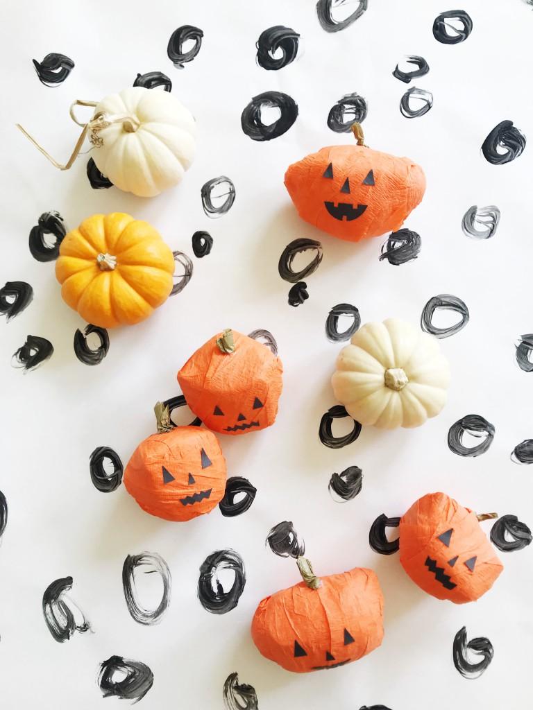 pumpkin surprise ball DIY-4