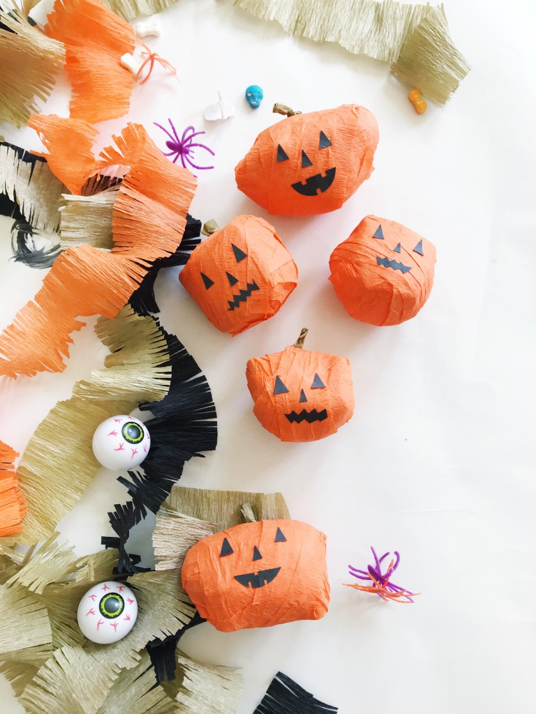 pumpkin surprise ball DIY-5