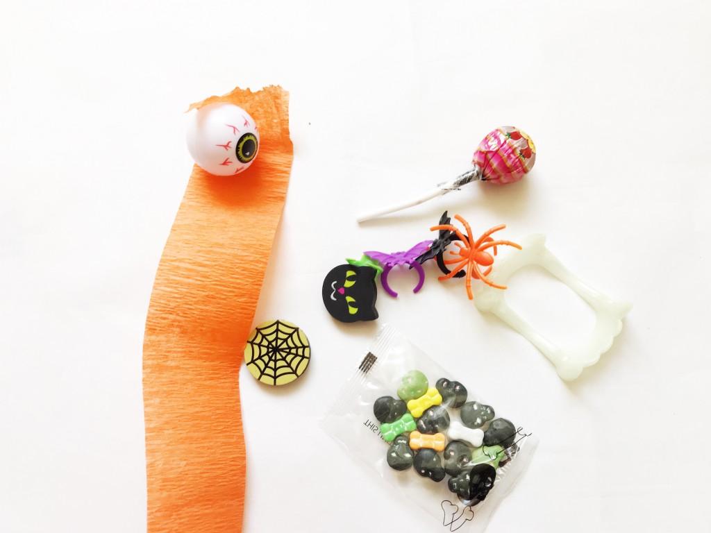 pumpkin surprise ball DIY-step1