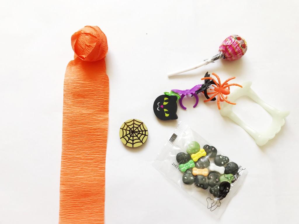 pumpkin surprise ball DIY-step2