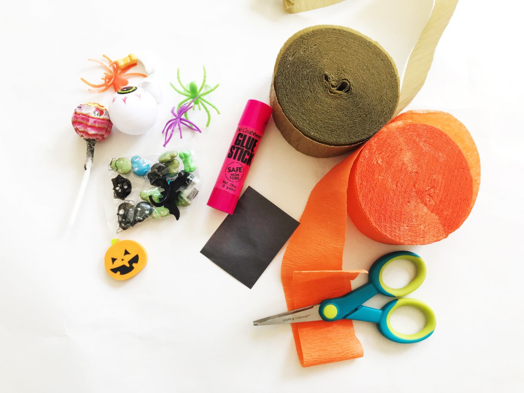 pumpkin surprise ball DIY-supplies