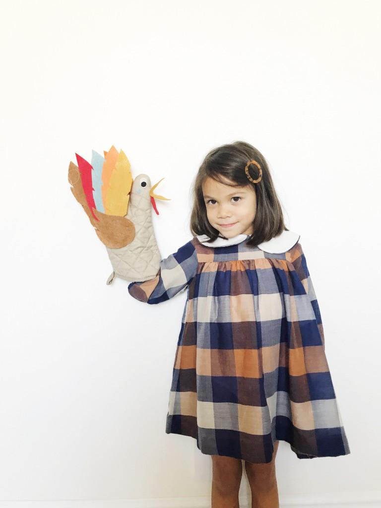 oven mitt turkey puppets // babiekins
