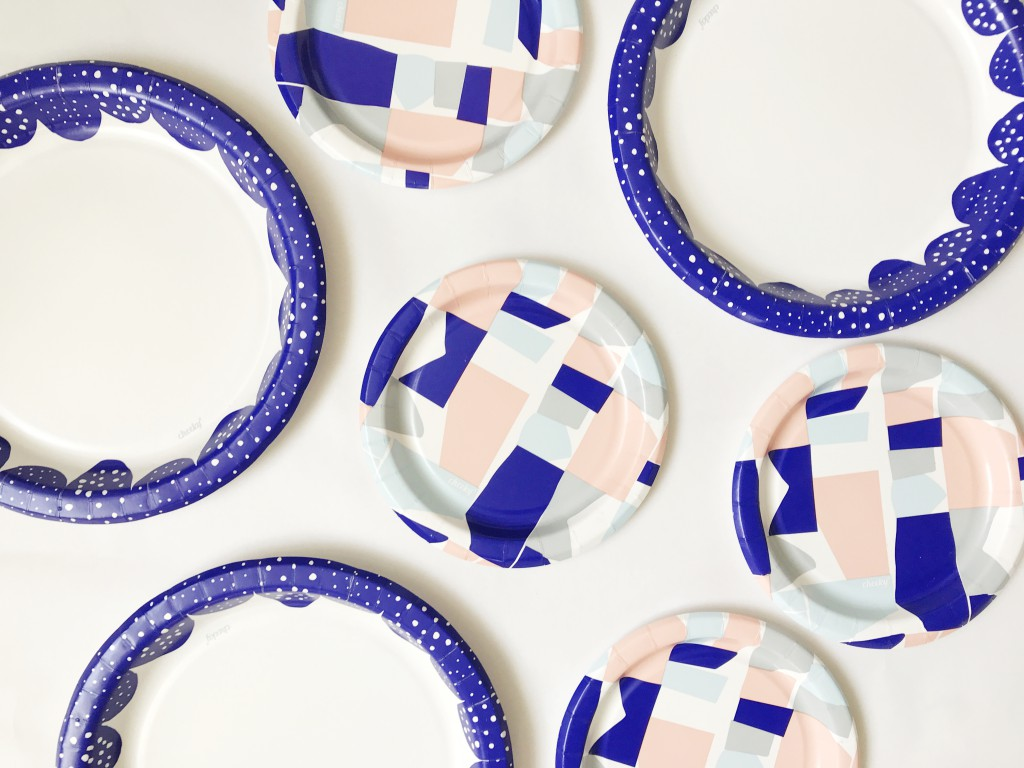 paper plate cake stand - supplies2