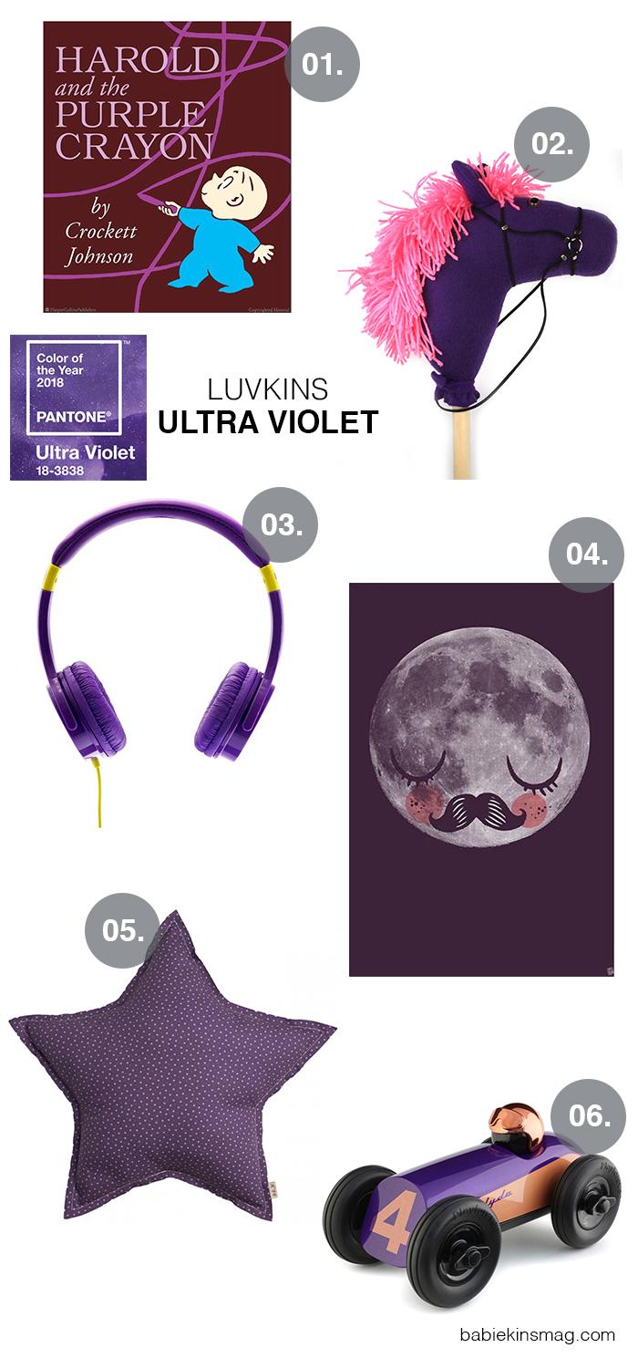 Babiekinsmag.com // Luvkins / Ultra Violet