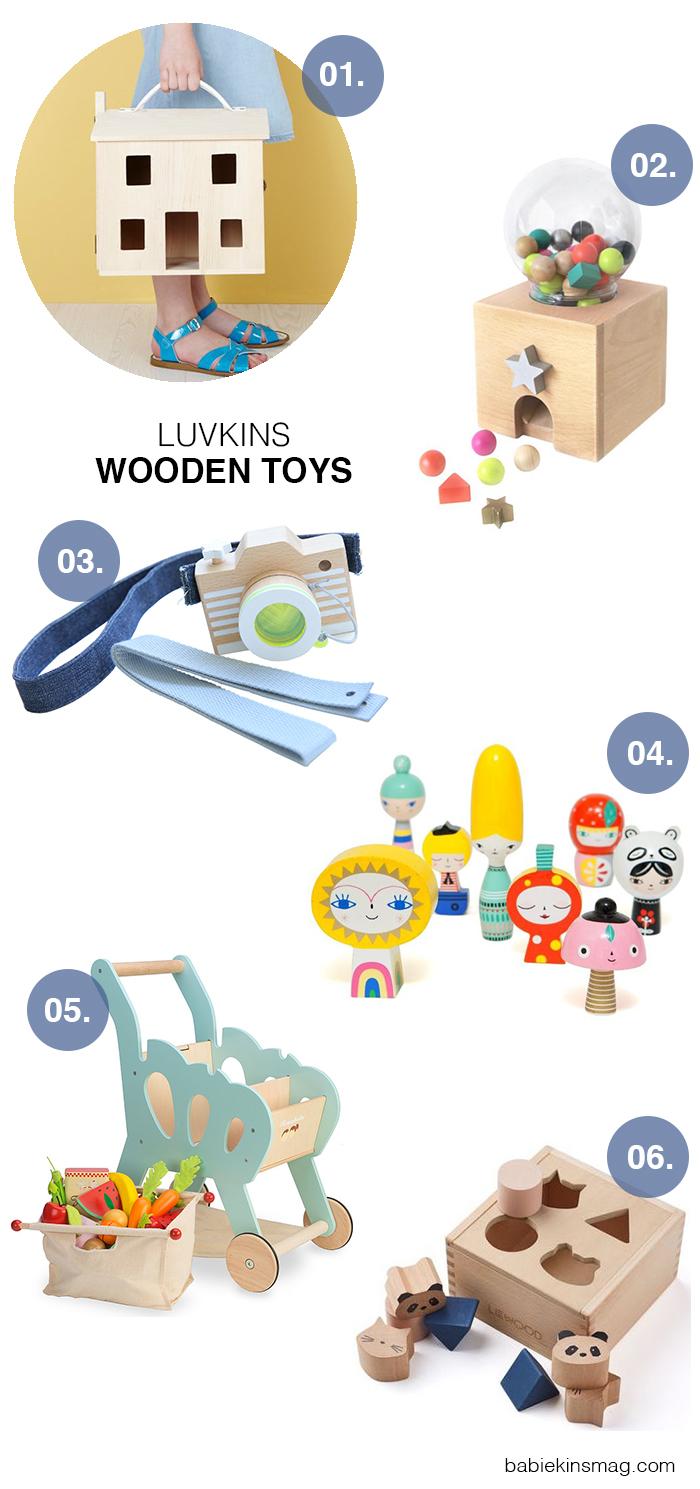 Babikinsmag.com // Luvkins / Wooden Toys