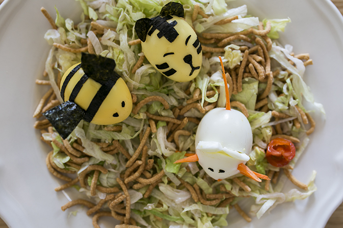 Foodkins // Make a Tiger, Mouse and Bee Egg