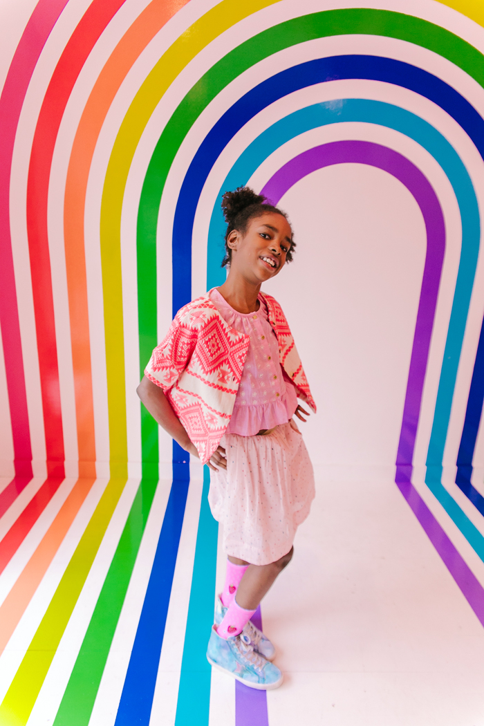 Elizabeth Pettey Photography for Babiekins Magazine, Rainbows in NYC