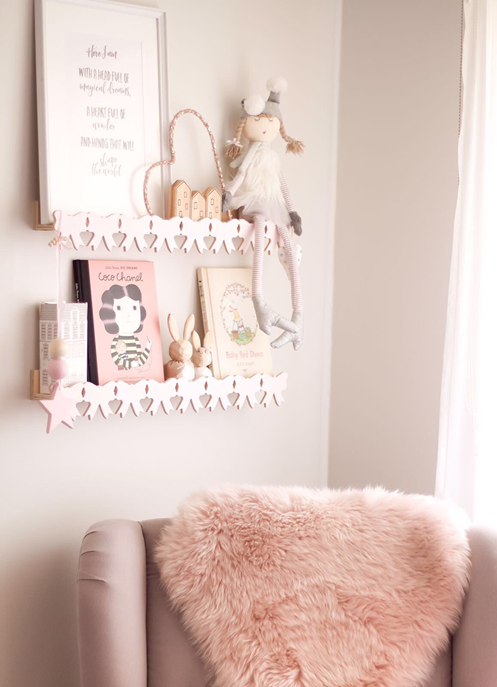 Sleepykins // Girl's Floral Nursery by Minnie and Me Interiors