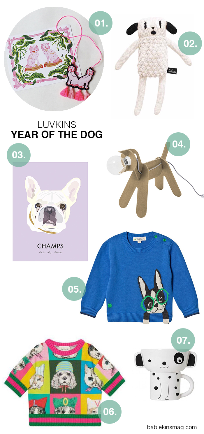 Babiekinsmag.com // Luvkins / Year of the Dog