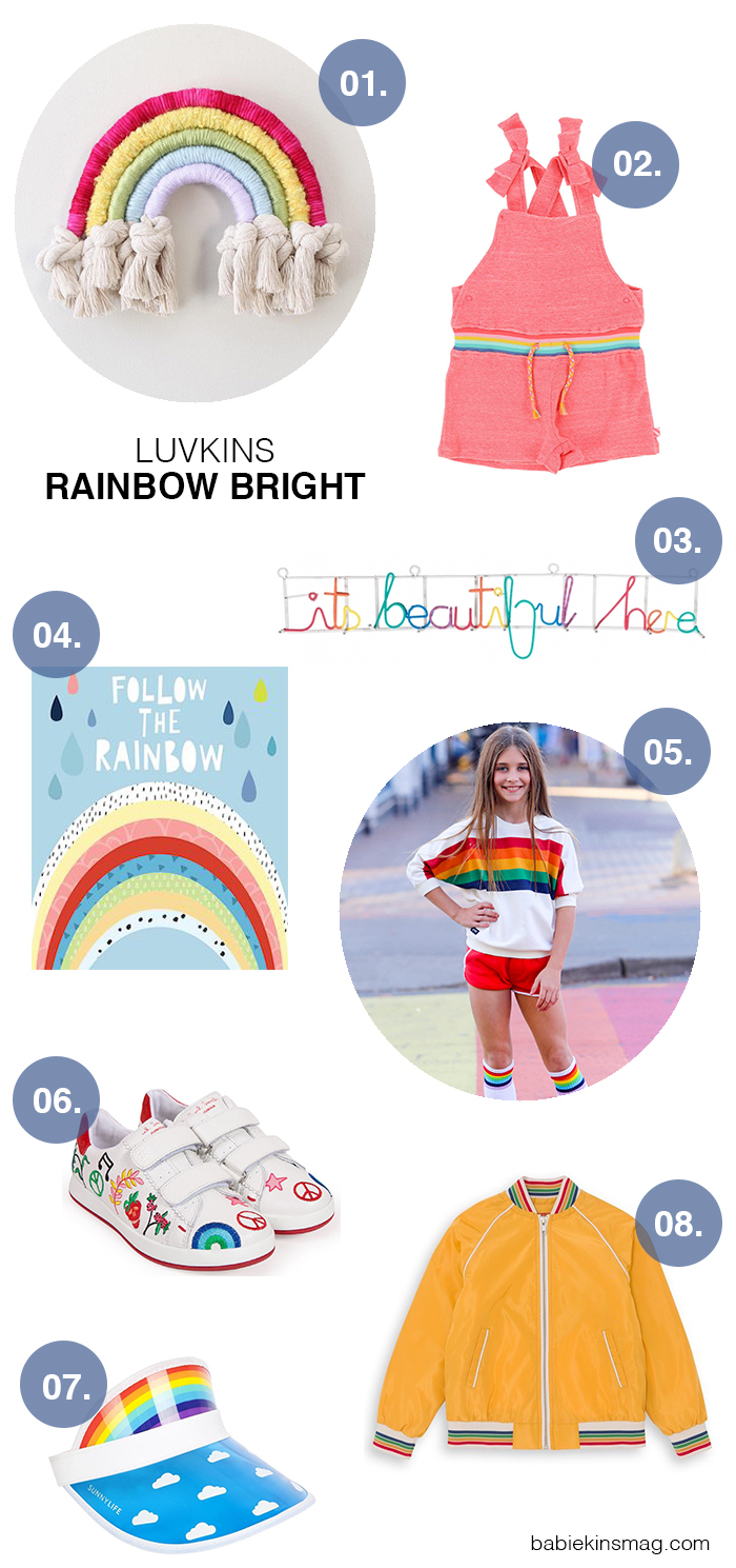 Luvkins // Rainbow Bright | Babiekins Magazine