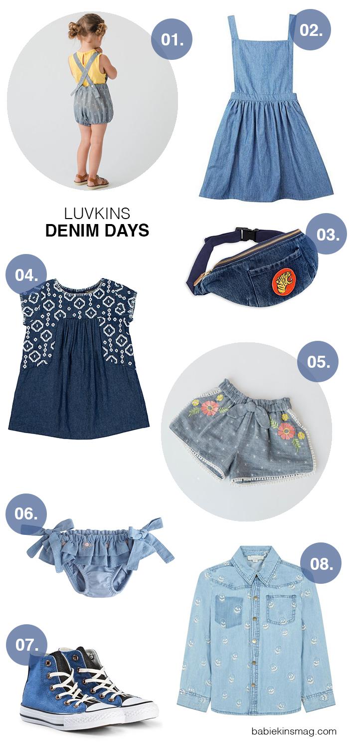 Luvkins // Denim Days | Babiekins Magazine