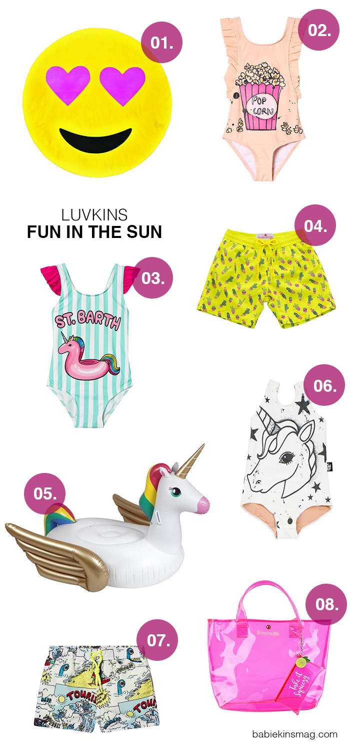 Luvkins // Fun In The Sun | Babiekins Magazine