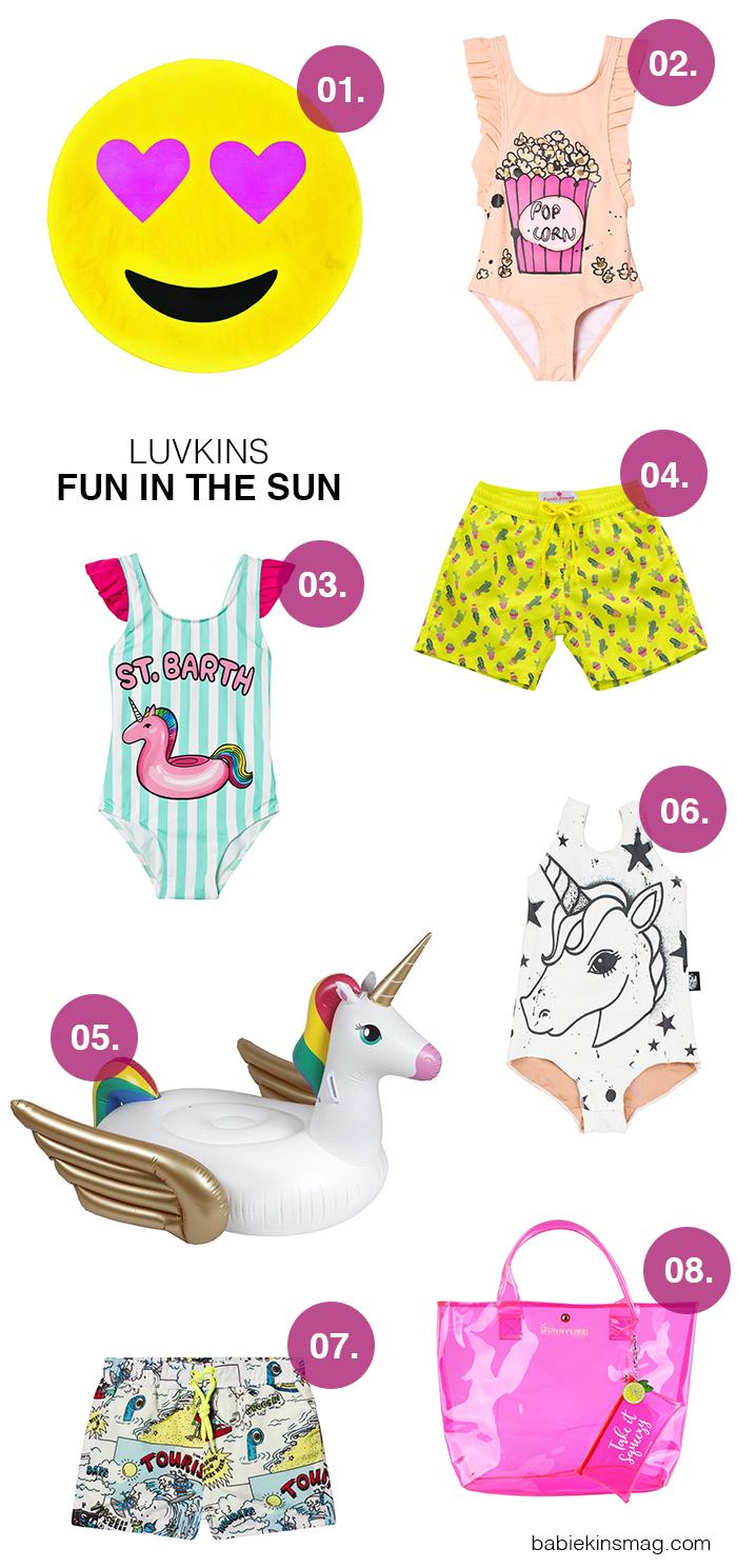 Luvkins // Fun In The Sun | Babiekins Magazine