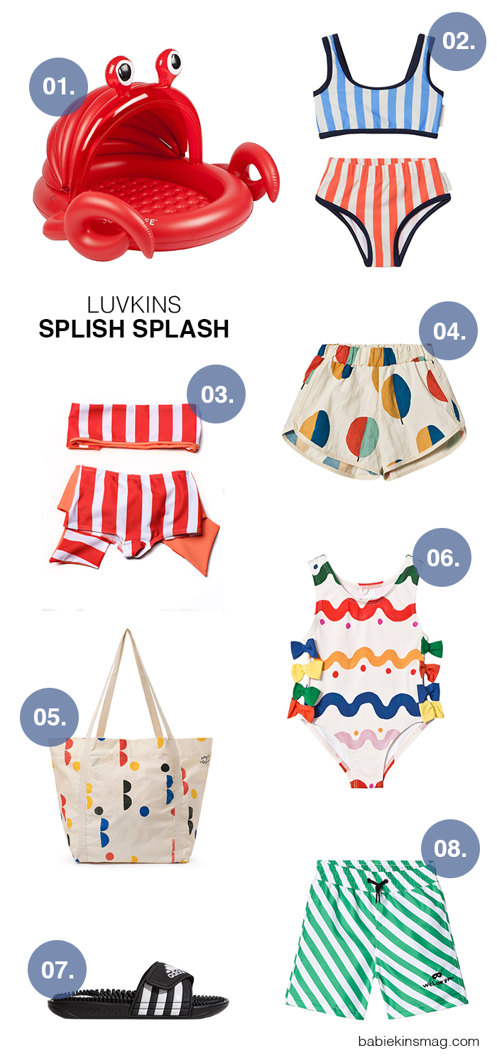 Luvkins // Splish Splash | Babiekins Magazine