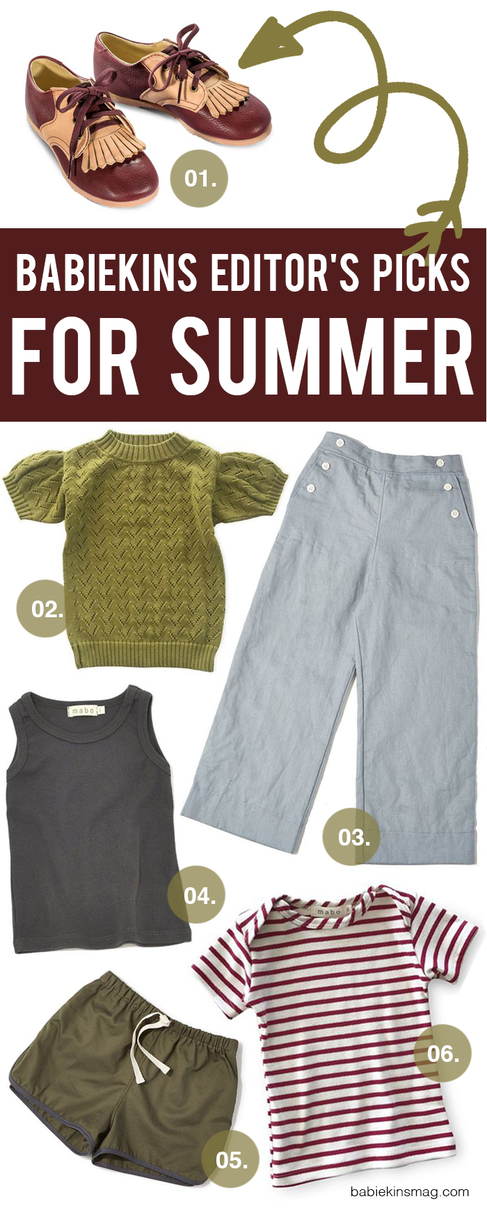 Editor's Picks // Summer Outfit Ideas for Girls from Mabo Kids