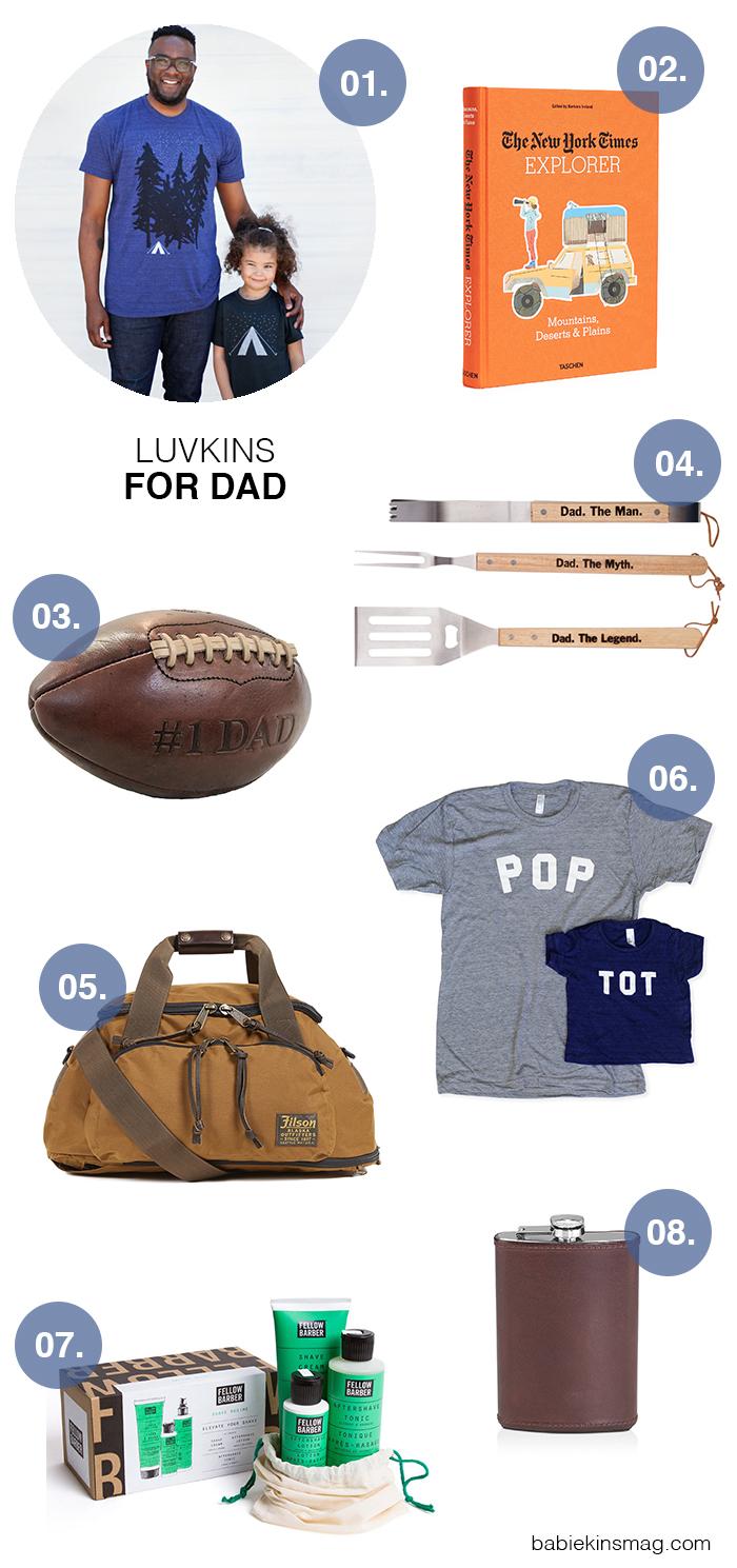 Luvkins // For Dad | Babiekins Magazine