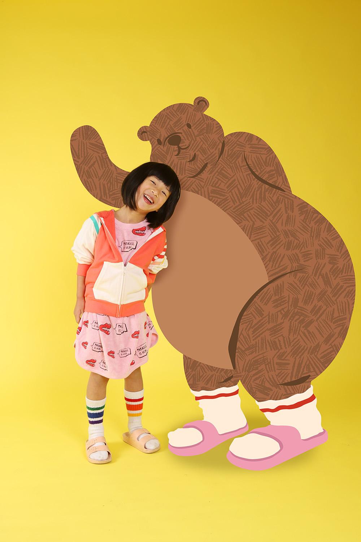 Buddy Bear and Me - Minimo Peeps Photography
