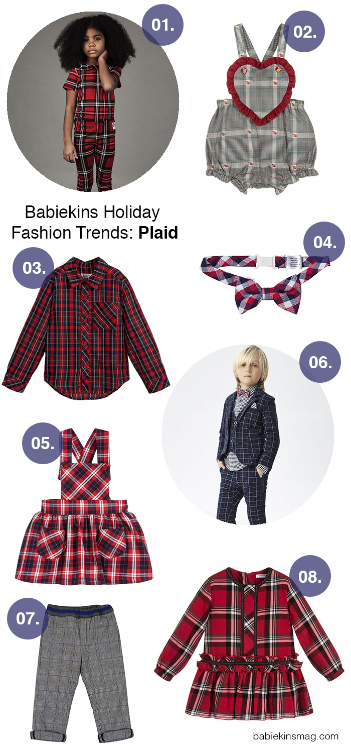 Babiekins Holiday Fashion Trends: Plaid | Babiekins Magazine