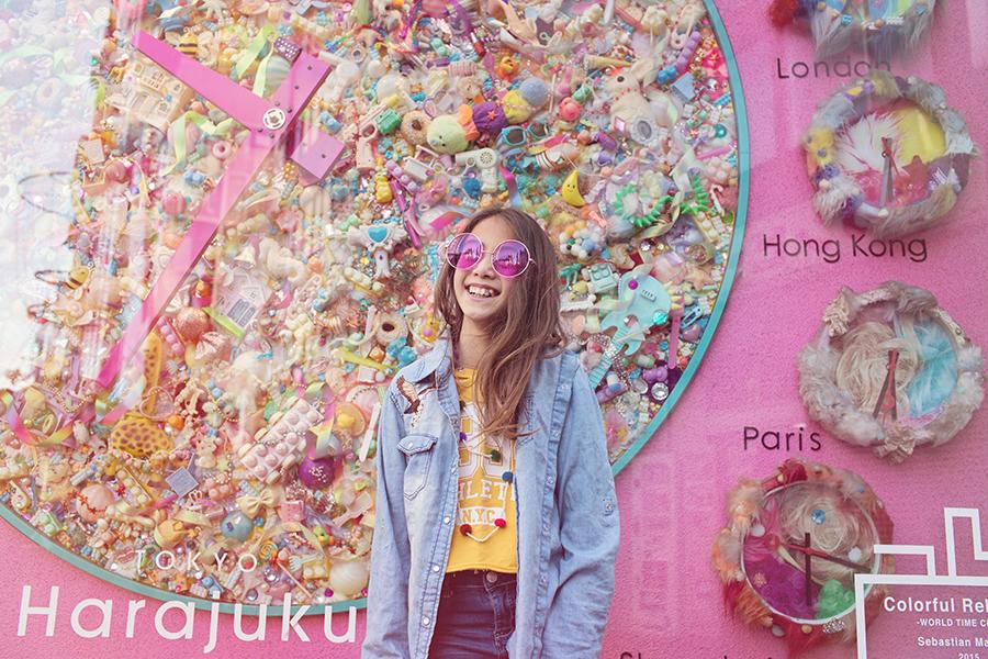 Kaleidoscope Harajuku by Artfully Uncommon for Babiekins Magazine