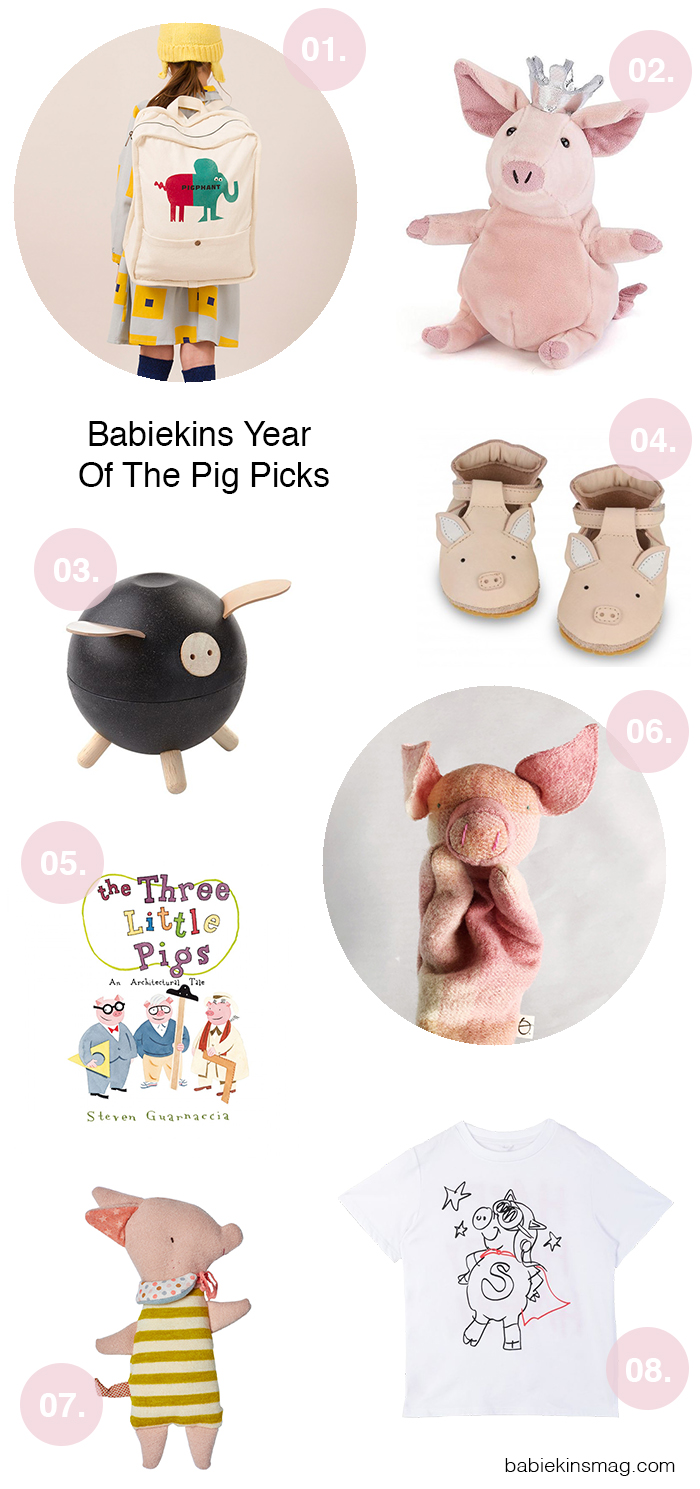 Babiekins Year Of The Pig Picks | Babiekins Magazine