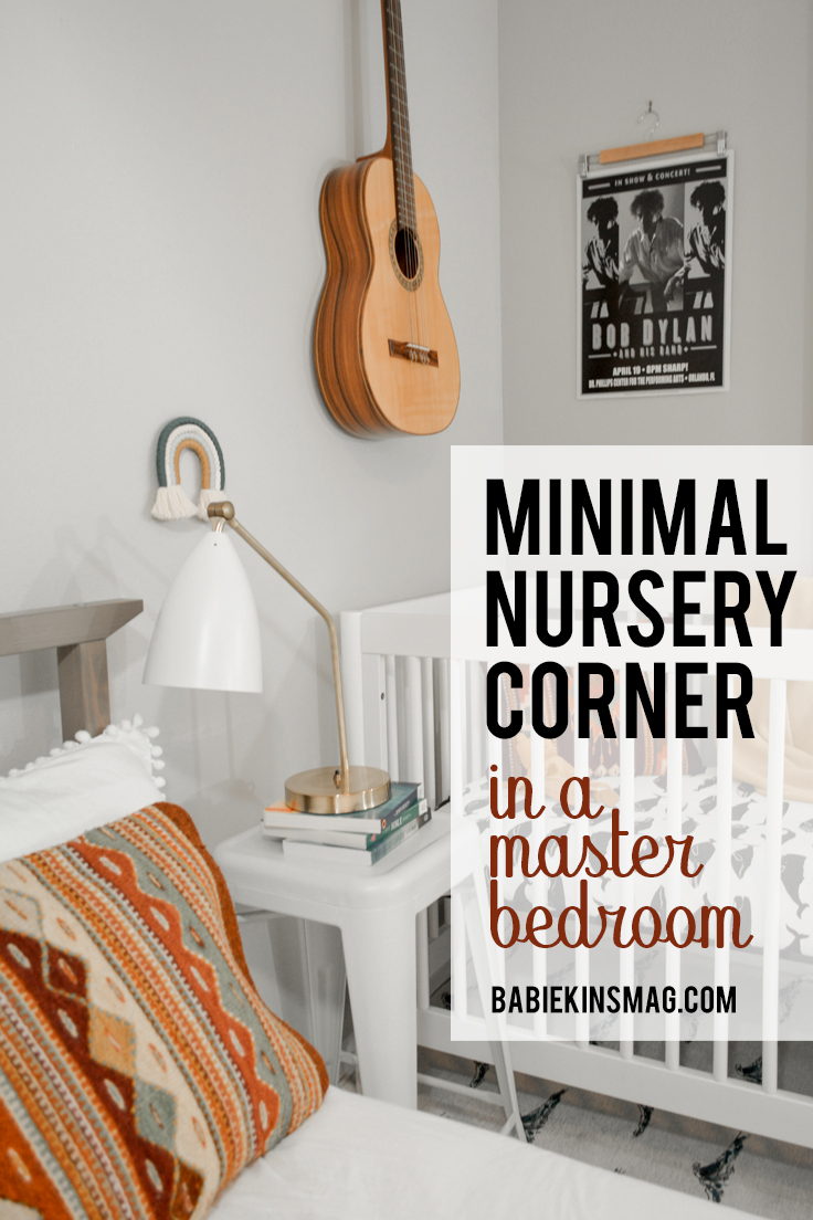 PIN FOR Minimal Nursery Corner in Master Bedroom