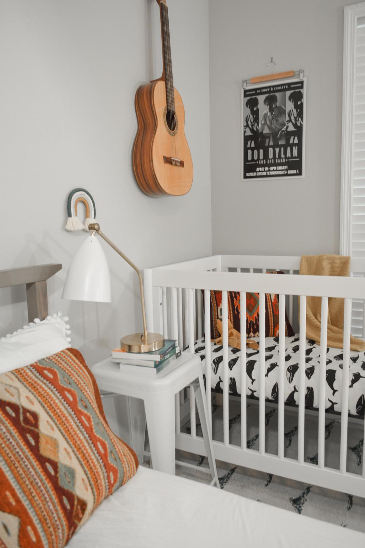 Minimal Nursery Corner in Master Bedroom-34